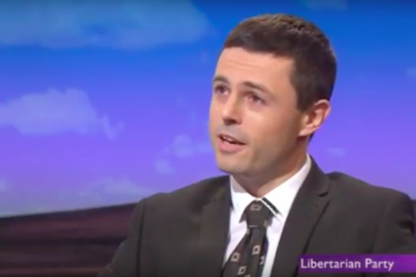 Will Taylor, LPUK, on The Daily Politics